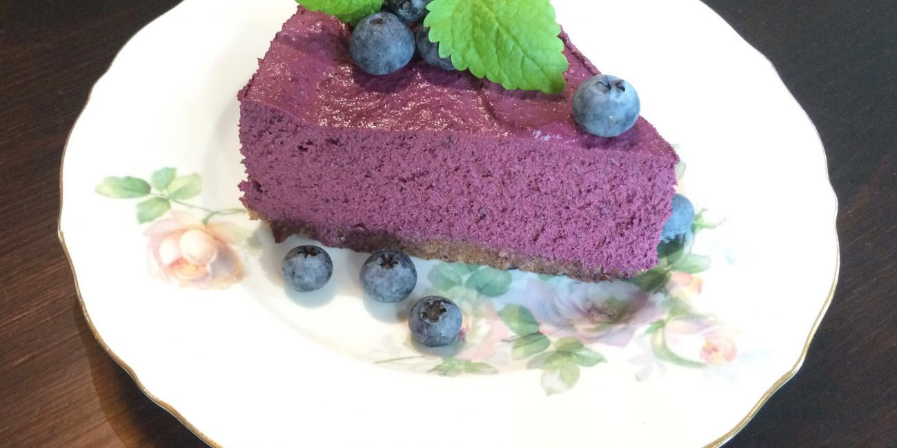 blueberry raw cheese cake