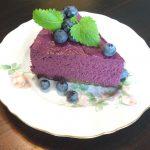 blueberry raw cheese cake